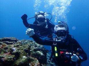 石垣島でのんびりダイビング「念願の出会い」ヒートハートクラブ