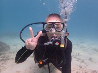 石垣島でのんびりダイビング「久しぶりの日差し」ヒートハートクラブ