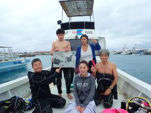 石垣島でのんびりダイビング「春休み」ヒートハートクラブ