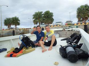 石垣島でのんびりダイビング「学生時代の仲間とダイブ」