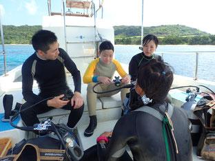 石垣島でのんびりダイビング「夏休み第三弾」ヒートハートクラブ