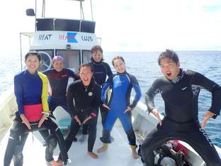 石垣島でのんびりダイビング「V字」ヒートハートクラブ