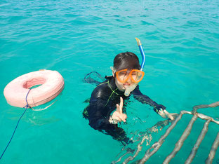 石垣島でのんびりダイビング「体験ダイビングに挑戦」ヒートハートクラブ