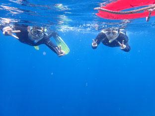のんびり家族で「体験ダイビング&シュノーケリング」ヒートハートクラブ