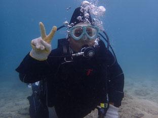 石垣島でのんびり体験ダイビング「リベンジ成功!」