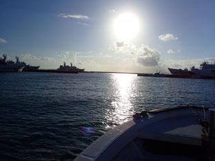 石垣島でのんびりダイビング「ボートメンテナンス」ヒートハートクラブ