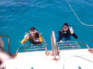 石垣島でのんびりダイビング「粘り勝ち」ヒートハートクラブ