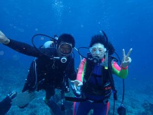 石垣島でのんびりダイビング「スクーバダイバー講習終了」