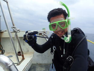 石垣島でのんびりダイビング「寒波襲来」