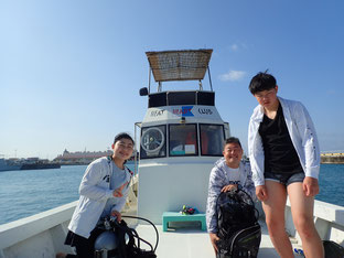 石垣島でのんびりダイビング「ファミリーダイビング」ヒートハートクラブ