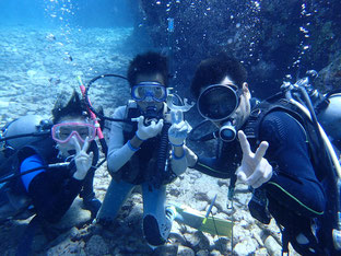 石垣島でのんびりダイビング「76日ぶり」ヒートハートクラブ