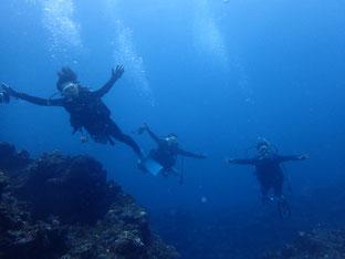 石垣島でのんびりダイビング「到着後ダイブ」ヒートハートクラブ