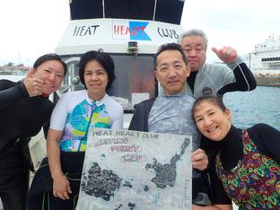 石垣島でのんびりダイビング「年末年始突入」ヒートハートクラブ