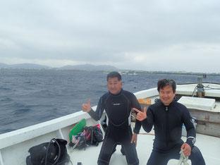 石垣島で初心者ダイビング「一気に冬に」ヒートハートクラブ