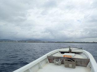 石垣島でのんびりシュノーケリング「梅雨空」ヒートハートクラブ