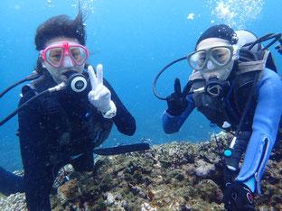 石垣島でのんびりダイビング「晴の嵐」ヒートハートクラブ