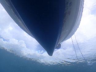 石垣島でのんびりダイビング「スコール直前」ヒートハートクラブ