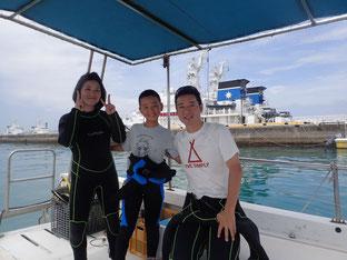 石垣島でのんびりダイビング「夏休み第一弾」ヒートハートクラブ
