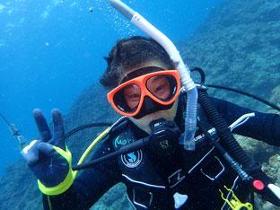 石垣島でのんびりダイビング「元気一杯」ヒートハートクラブ