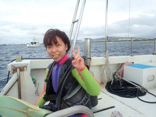 石垣島でのんびりダイビング「一気に冬」ヒートハートクラブ