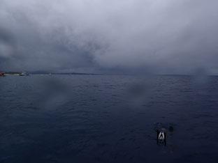 石垣島でのんびりダイビング「天気急変」ヒートハートクラブ
