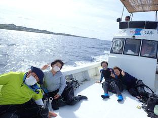 石垣島でのんびりダイビング「サンゴ礁へ」ヒートハートクラブ