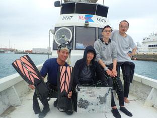 石垣島でのんびりダイビング「石垣島の珊瑚礁へ」ヒートハートクラブ
