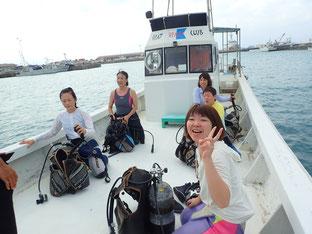 石垣島でのんびりダイビング「シニアダイバー」ヒートハートクラブ