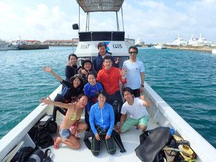 石垣島でのんびりダイビング「平成最後の」ヒートハートクラブ