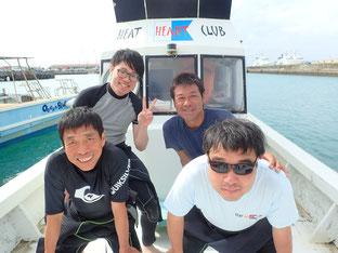 石垣島でのんびりダイビング「リベンジ!」ヒートハートクラブ