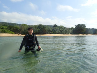 石垣島でのんびりダイビング「ビーチダイブ」