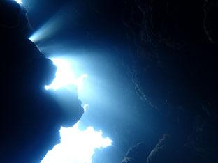 石垣島でのんびりダイビング「ケーブダイビング」ヒートハートクラブ