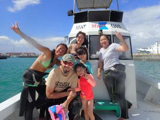 石垣島でのんびりダイビング「フランスから」ヒートハートクラブ」