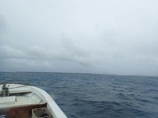 石垣島でのんびりダイビング「冬型の天気」