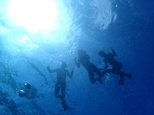 石垣島でのんびりシュノーケリング「家族でシュノーケリング」ヒートハートクラブ