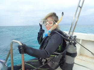 石垣島でのんびりダイビング「初心者ダイバー」ヒートハートクラブ