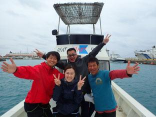 石垣島でのんびり体験ダイビング「10年ぶりの来島」ヒートハートクラブ