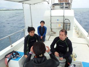 石垣島でのんびり体験ダイビング「ファミリーで体験ダイビング」ヒートハートクラブ
