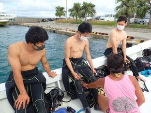 石垣島でのんびりダイビング「感染対策」ヒートハートクラブ