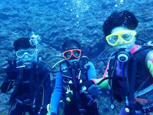 石垣島でのんびりダイビング「トラウマ克服」ヒートハートクラブ