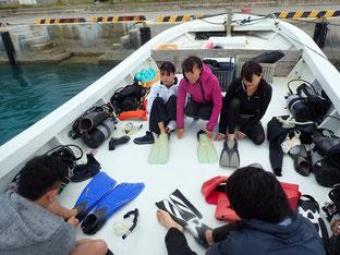 石垣島でのんびりダイビング「ファミリーで」ヒートハートクラブ