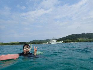 石垣島でのんびりダイビング「急遽来店」