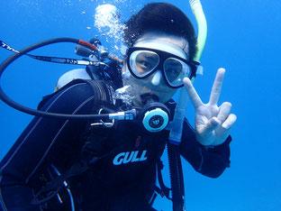 石垣島でのんびりダイビング「大陸からのゲスト」ヒートハートクラブ