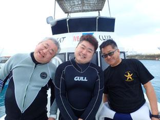石垣島でのんびりダイビング「今年も潜り納め」ヒートハートクラブ