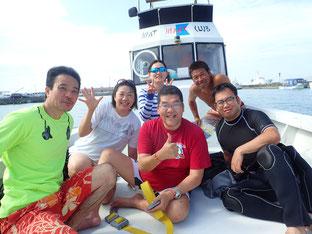 石垣島でのんびりダイビング「きた~」ヒートハートクラブ