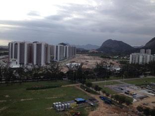 Hier entsteht das olympische Dorf (Bild: Michael Fuchs)