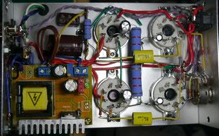 EL34 SE AMP DIY EL34シングルアンプ自作