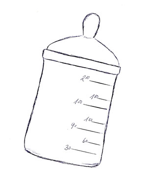 Aufzuchtfläschchen und Aufzuchtmilch gibt es beim Tierarzt oder im Fachhandel.