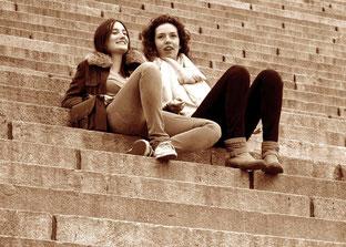 Kathrin und Christine, die lustigen Französinnnen