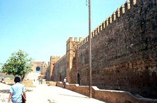 die Stadtmauer vom Königs-Palast